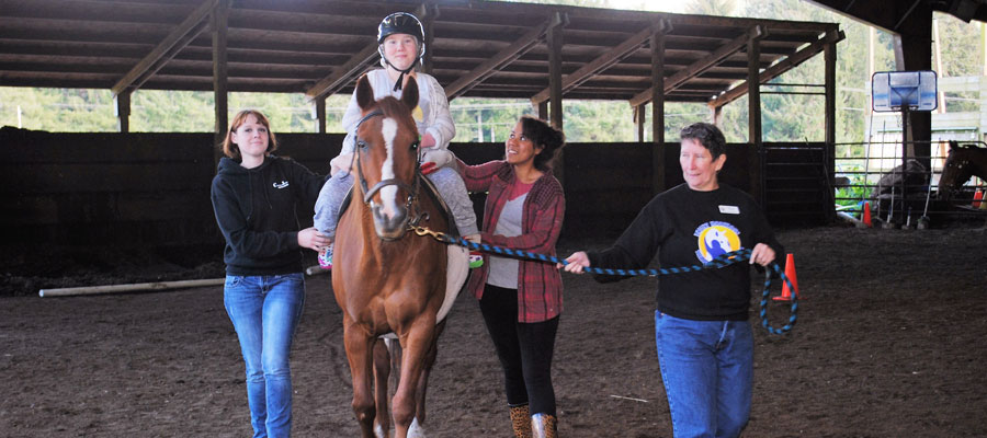 Bright Horizons Therapeutic Riding Center Siletz Oregon PATH - 12 equestrian places in the us