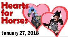 Hearts for Horses is January 27, 2018