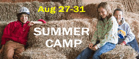 Summer Camp - Aug 27-31, 2018