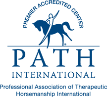 Bright Horizons Therapeutic Riding Center is a PATH International Member Center